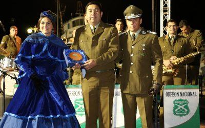 LA BIG BAND DE CARABINEROS SE PRESENTÓ EN CALDERA