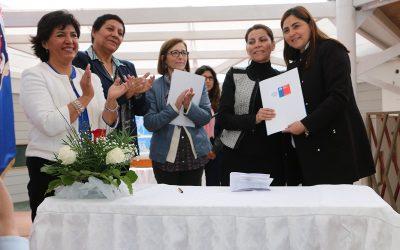 MINISTRA DE BIENES NACIONALES ENTREGA TERRENOS A MUNICIPIO DE CALDERA