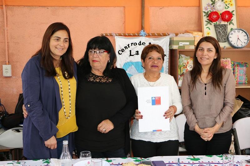 CENTRO DE MADRES LA PAZ DE CALDERA CUMPLIÓ SU SUEÑO