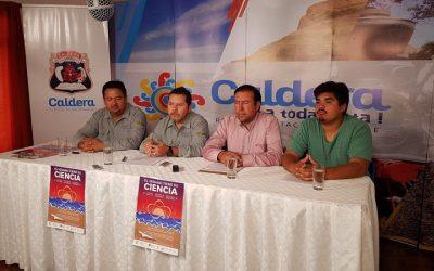 MUNICIPIO DE CALDERA Y PAR EXPLORA UDA REALIZARAN INEDITA INTERVENCION QUE COMBINARA CIENCIA Y BOHEMIA