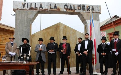 COMENZÓ LA FIESTA MAS BELLA DE ATACAMA EN CALDERA