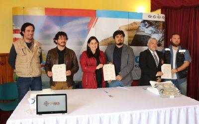 MUNICIPIO ENTREGA EL CUERPO DE UN ODOBENOCETOPS AL MUSEO DE HISTORIA NATURAL
