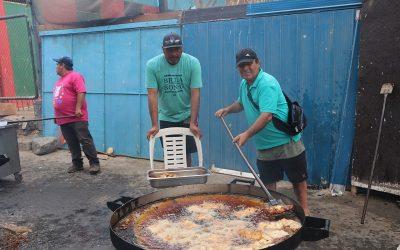 MILES DE PERSONAS COMPARTIERON EN EL CHAO PESCA'O CALDERINO