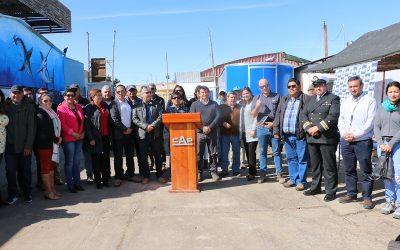 CAP MINERIA Y CASERONES ENTREGAN PROYECTOS FISE EN CALDERA