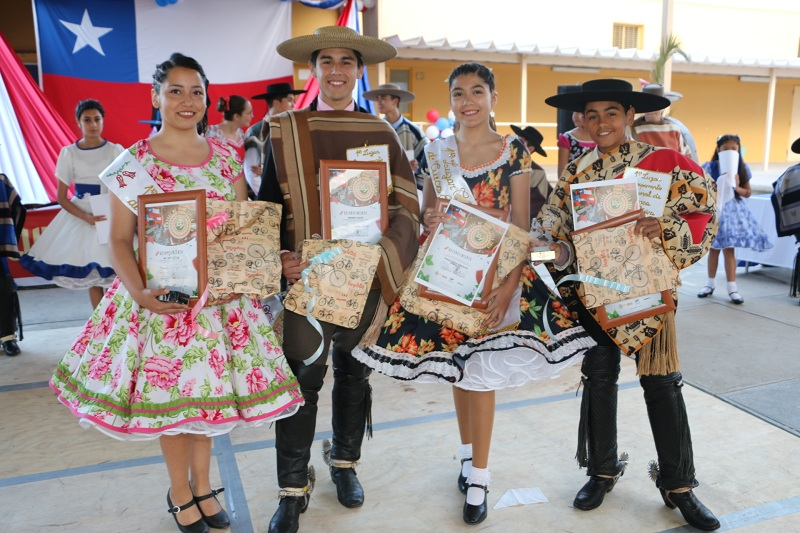 CALDERA YA TIENE CAMPEONES COMUNALES DE CUECA ESCOLAR